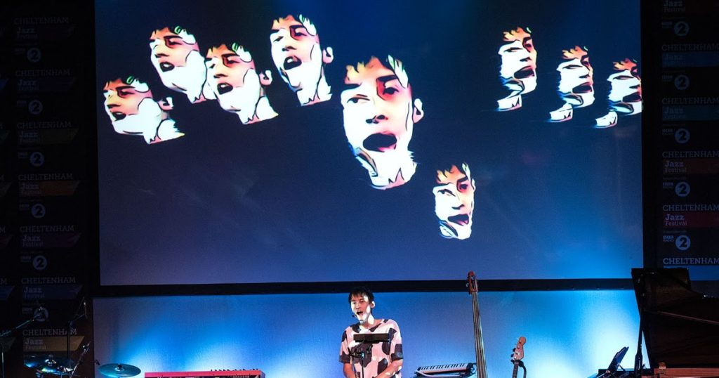 Jacob Collier Solo Show at the 2016 Cheltenham Jazz Festival ©John Watson