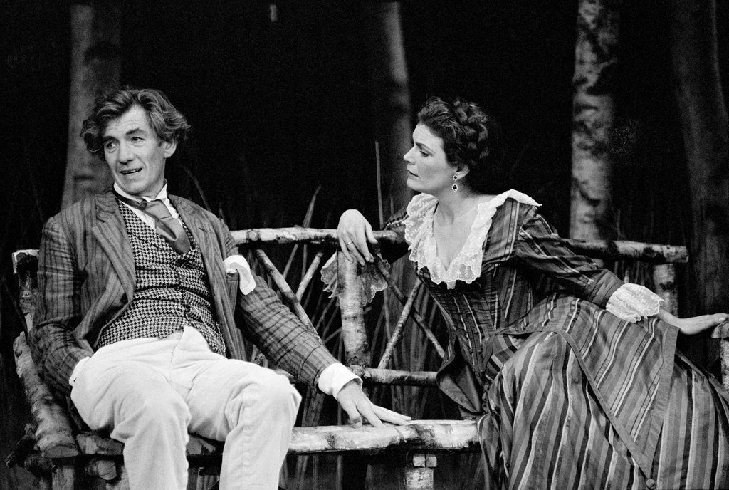 Chekhov on Broadway. Ian McKellen as Platonov