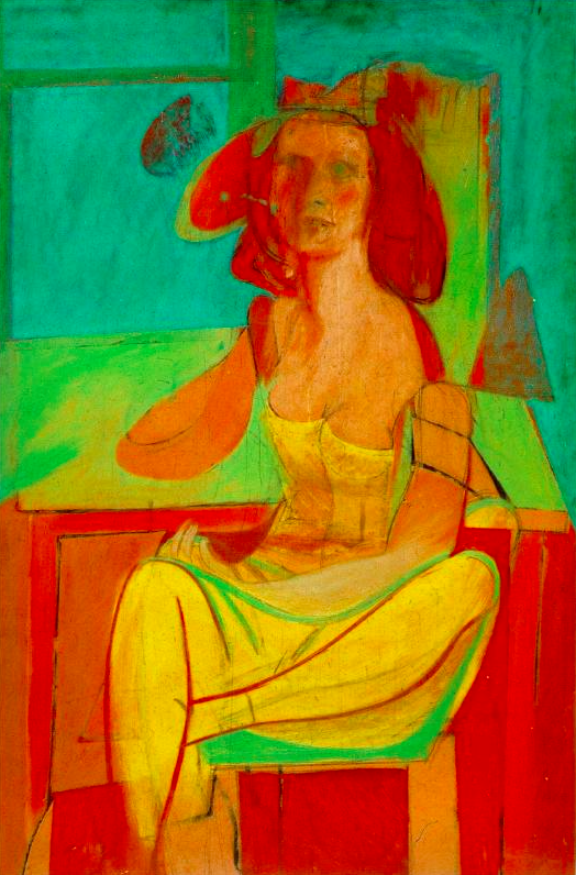 Willem de Kooning, Seated Woman, 1940