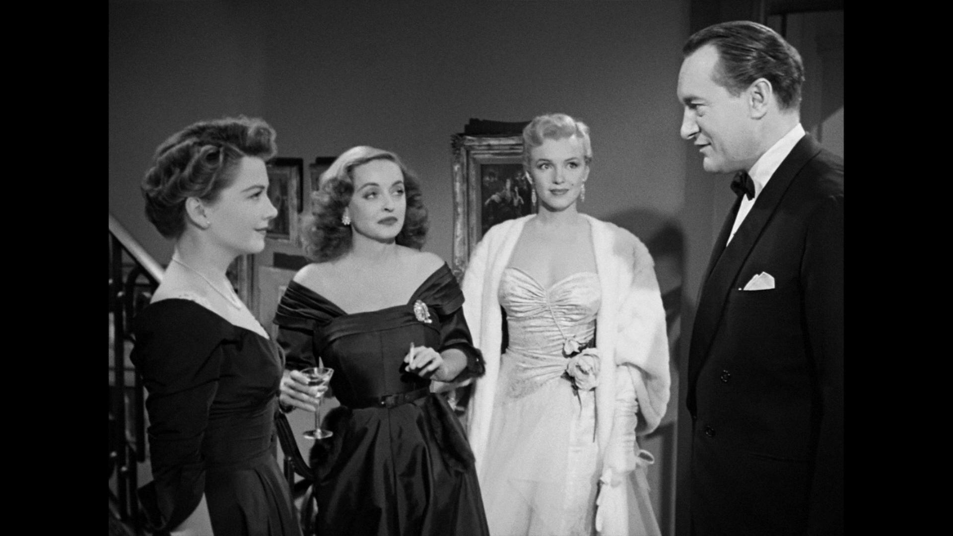 All About Eve: Anne Baxter, Bett Davis, Marilyn Monroe
