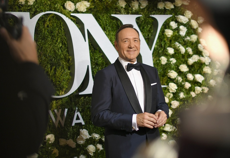 NEW YORK, NY - JUNE 11: Host Kevin Spacey attends the 2017 Tony Awards at Radio City Music Hall on June 11, 2017 in New York City. (Photo by Mike Coppola/Getty Images for Tony Awards Productions)