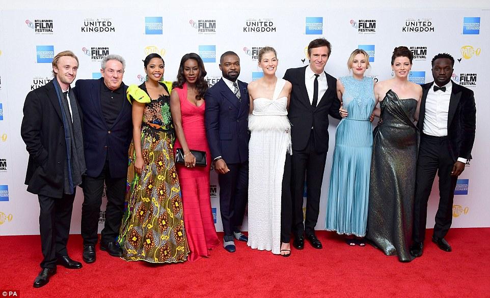 'A United Kingdom' cast at BFI gala @PA