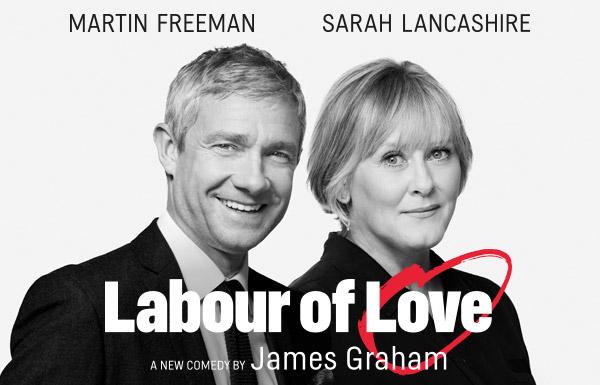 Мартин Фриман в главной роли в спектакле «Labour of Love»