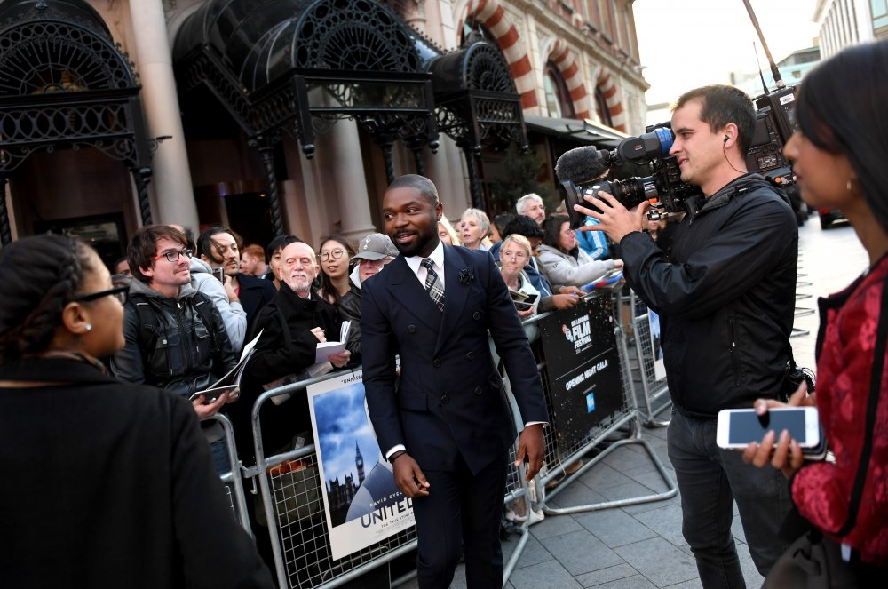 Actor David Oyelowo attends the Opening Night Gala screening of A United Kingdom at Odeon Leicester Square ©BFI