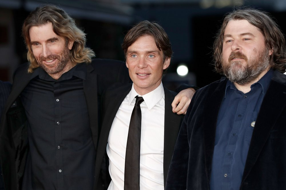 Cillian Murphy, Ben Wheatley and Sharlto Copley at BFI Closing Gala 'Free Fire' ©BFI