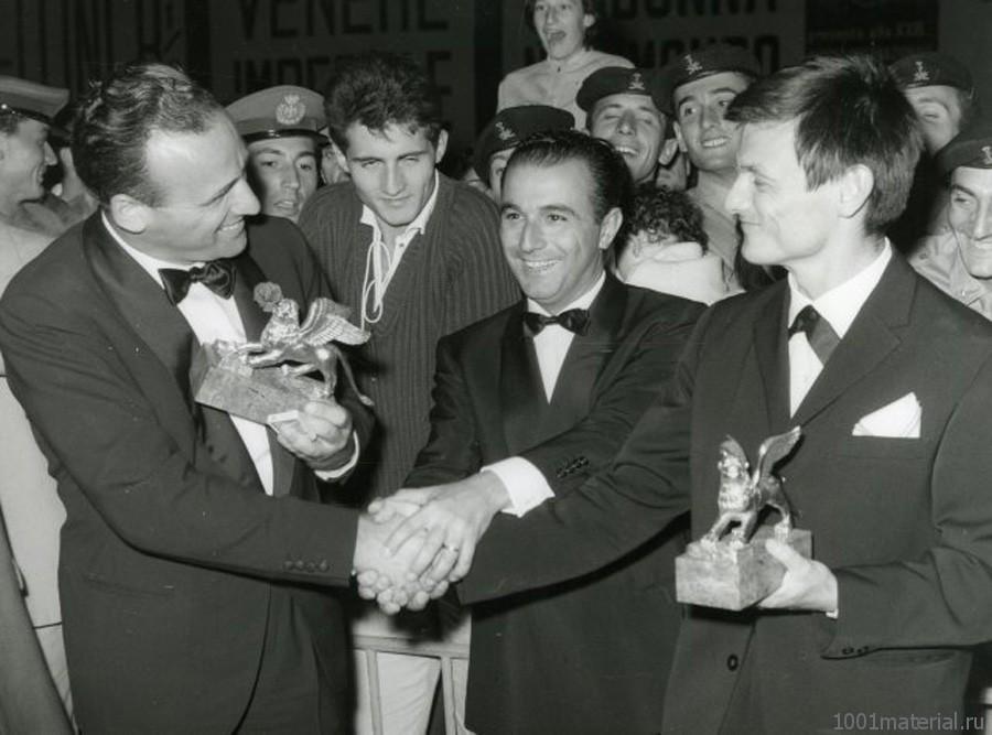 А.Тарковский на Венецианском кинофестивале, 1962г.