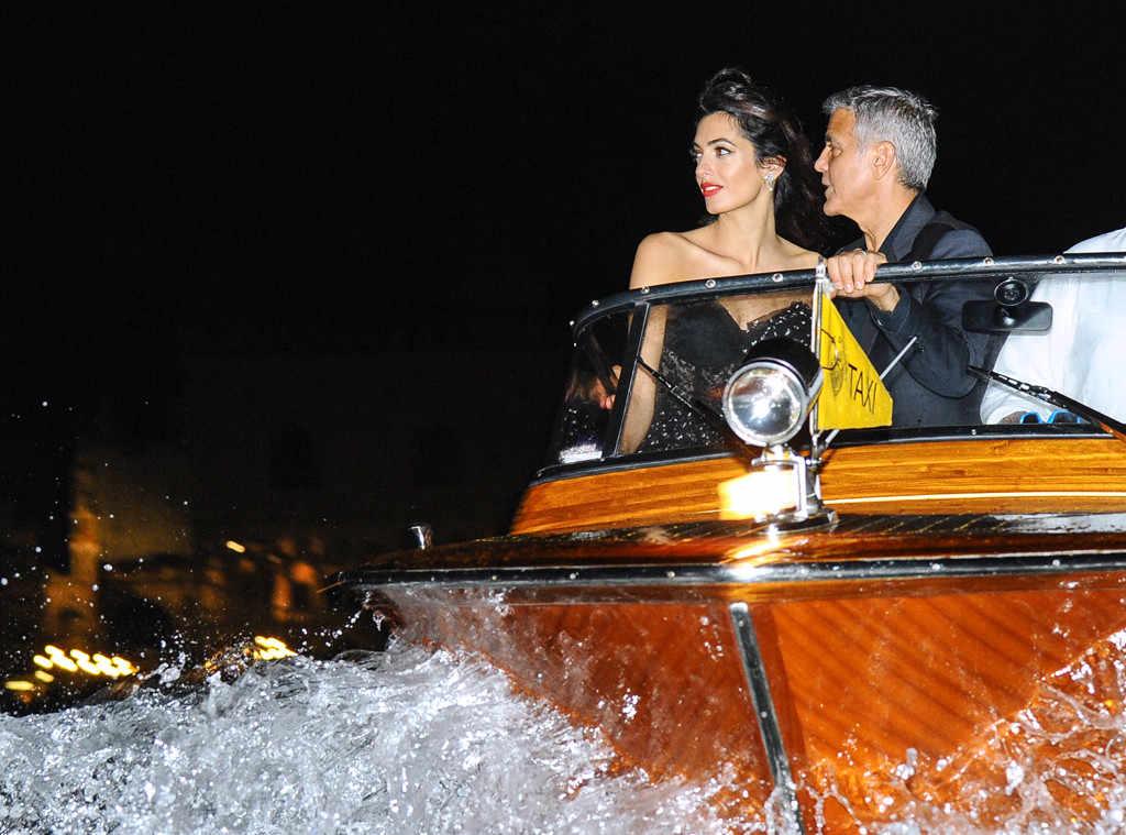 Джордж и Амал Клуни прибывают на кинофестиваль