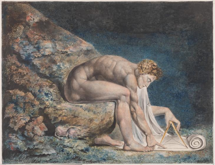 Newton 1795-c. 1805 William Blake 1757-1827 Presented by W. Graham Robertson 1939 http://www.tate.org.uk/art/work/N05058