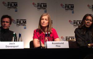 'A United Kingdom' Press Conference BFI London Film Festival