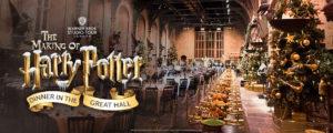 Волшебный Рождественский ужин в студии Гарри Поттера Warner Bros