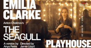 Emilia Clarke in Chekhov's Seagull